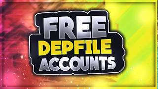 Free Depfile Premium Accounts Daily (MUST WATCH)