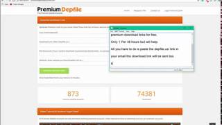 Download any Depfile.us Link Free No Premium Account November 2017