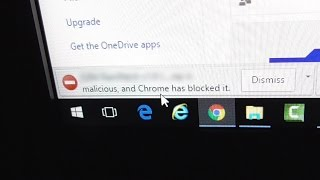 "How to fix File ""is malicious, and Chrome has blocked it"" Download error"