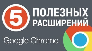 5 ПОЛЕЗНЫХ расширений Google Chrome